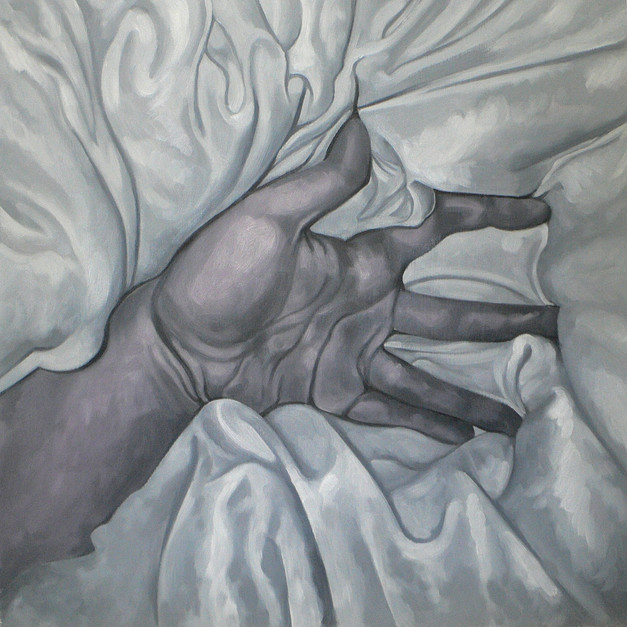 Hand in Bed