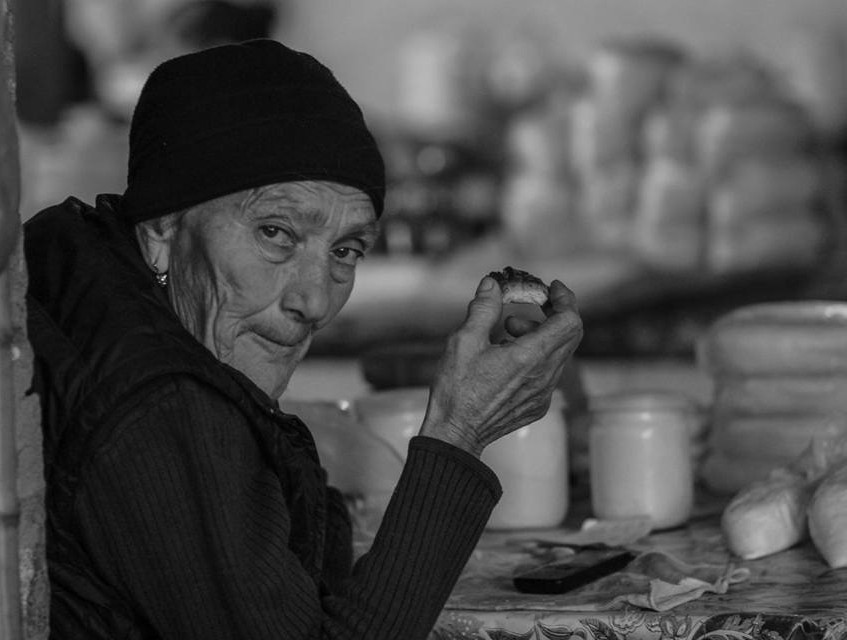 בשוק המקומי - זוגדידי, גיאורגיה