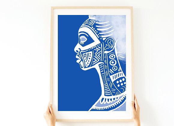 הדפס African Beauty