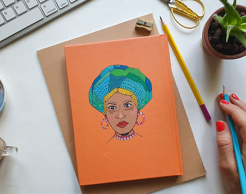 african mother notbook