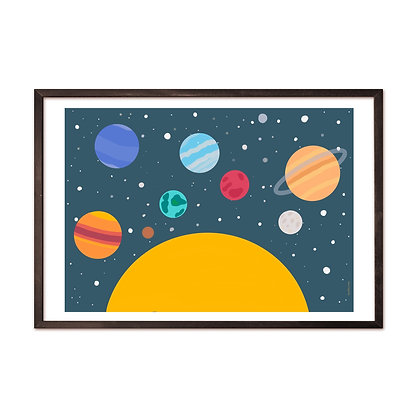 הדפס כוכבי לכת