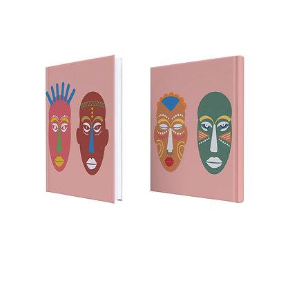 מחברת African masks