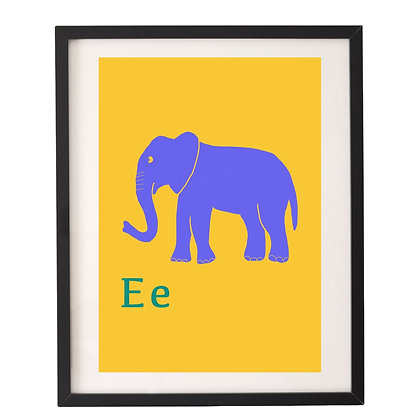 חיות ואותיות - פיל