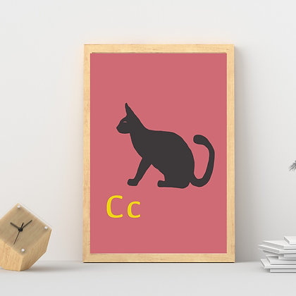 חיות ואותיות - חתול