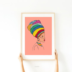african queen by Ayelita