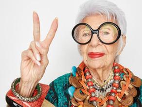 על תעוזה, השראה וצבעוניות -  איריס אפפל חוגגת יום הולדת 99 !