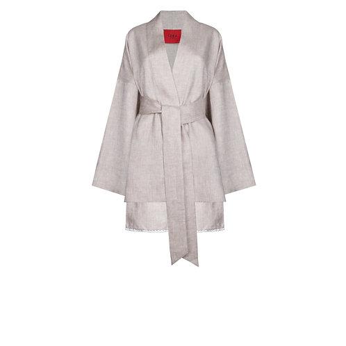 IZBA rouge кимоно с шортами из натурального льна