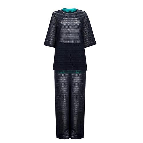 Lace lounge suit €416 / $460