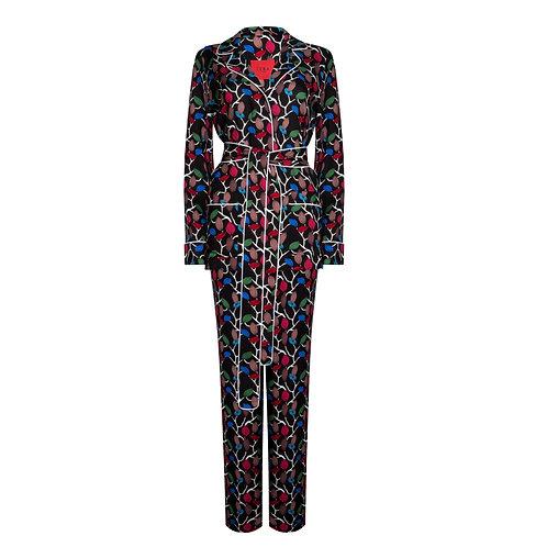 IZBA rouge пижамный костюм для улицы с ярким принтом