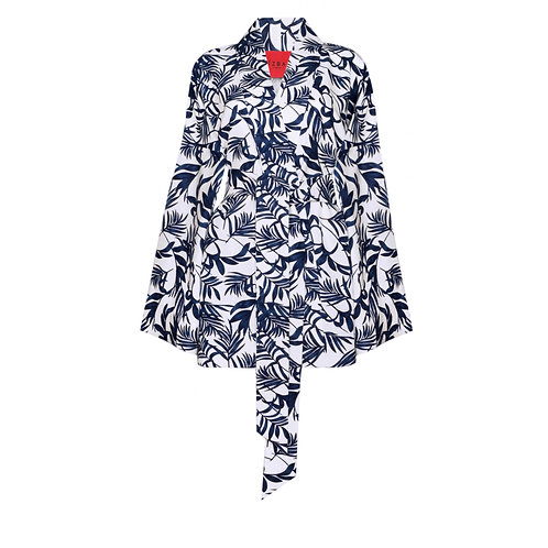 Linen kimono with shorts €386 / $427