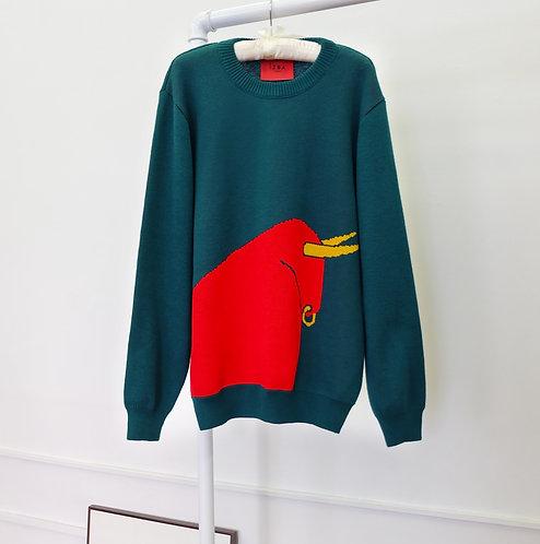 Унисекс свитер с быком €214 / $237
