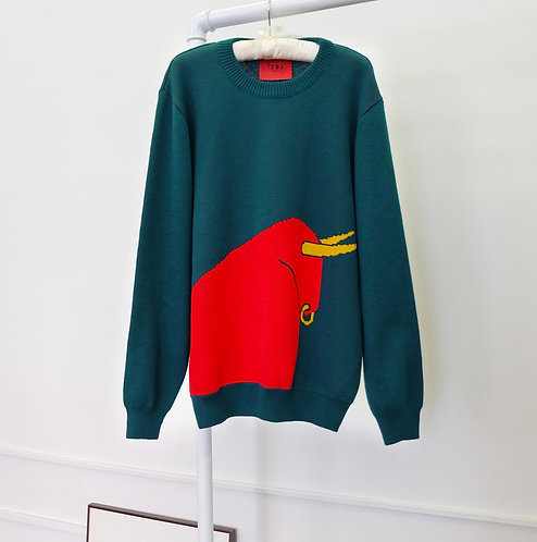 Sweater with bull €150 / $166