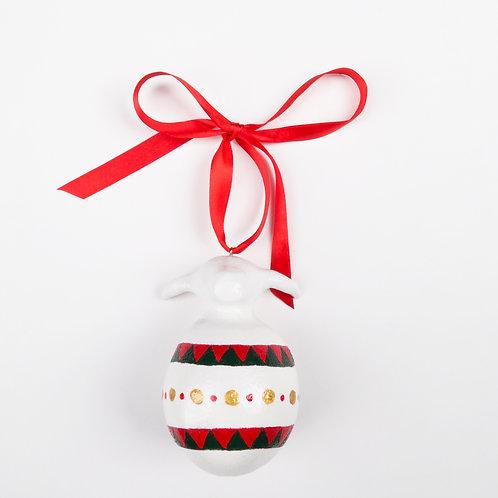 IZBA rouge handmade елочные игрушки в форме быка символа нового года