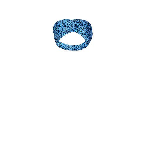 IZBA rouge animal-print headband