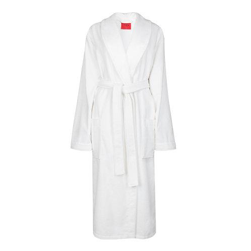 IZBA rouge белый махровый халат