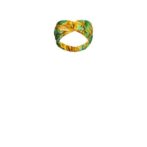 IZBA rouge повязка на голову с ярким тропическим принтом