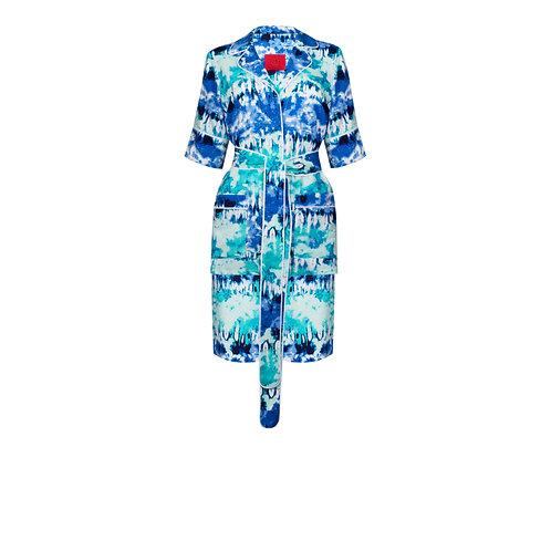 IZBA rouge pajama suit with shorts