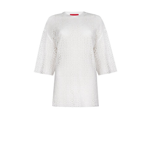 IZBA rouge milky lace t-shirt