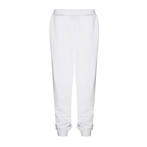 IZBA rouge спортивные брюки из белого хлопка