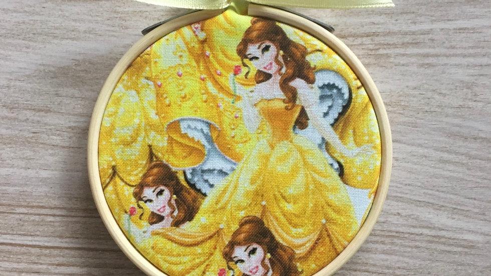 Tambour cercle Disney la Belle et la Bête