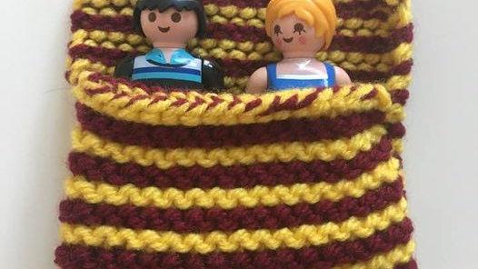 Sac de couchage playmobile en laine Harry Potter