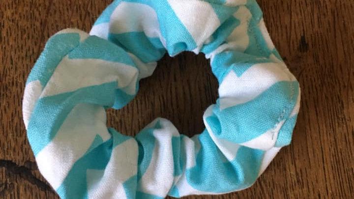 Choucou géométrique Bleu et Blanc