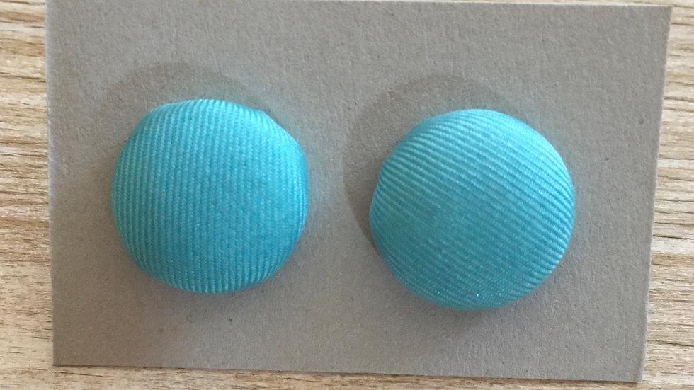 Boucles d'oreilles Clous bleu