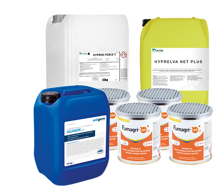 Komplett pakke rengjøring og desinfeksjon