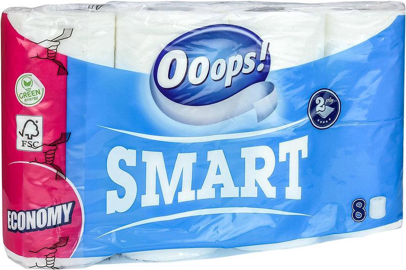 Ooops! Smart toalettpapir - 64 ruller
