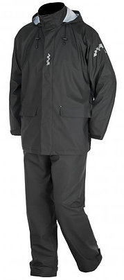 Regntøysett i PU - jakke og bukse