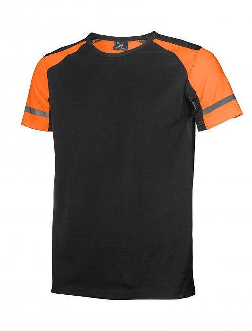 T-skjorte med synlighetsdetaljer