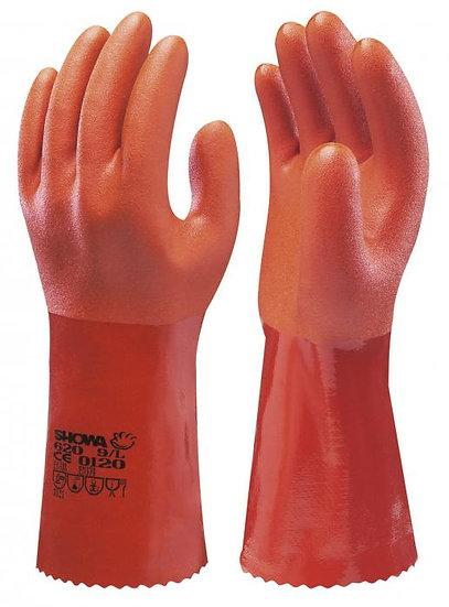 Ekstra myk PVC hanske 34 cm - 1par