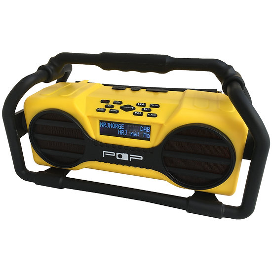 POP @worksite DAB+ radio