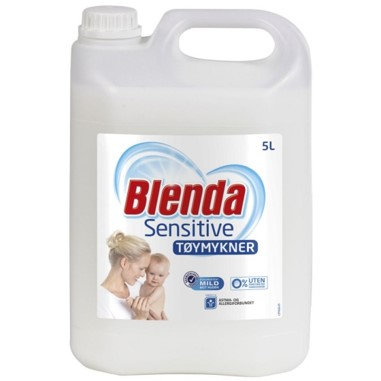 Lilleborg tøymykner,  Blenda Sensitive,  5 liter