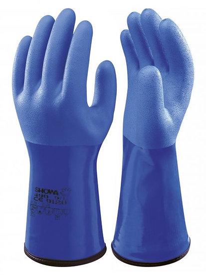 Kuldebestandig PVC hanske - 1 par