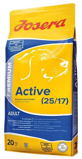 Josera Active 20kg - Hundefôr