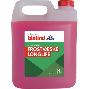BLÅTIND FROSTVÆSKE LongLife 774 D-F KONSENTRERT (RØD)