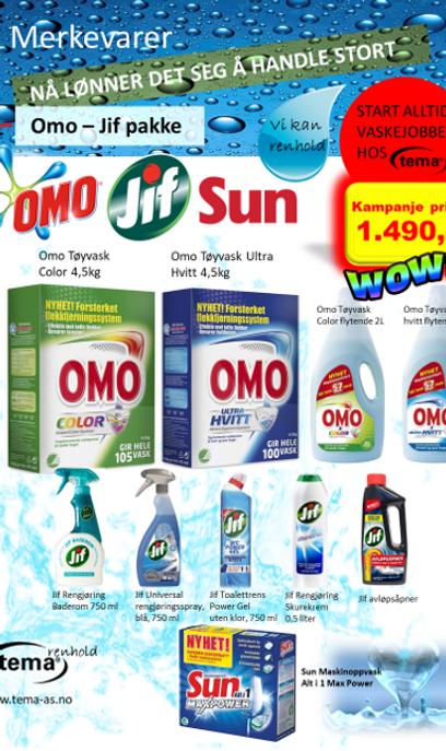 Omo - Jif pakke