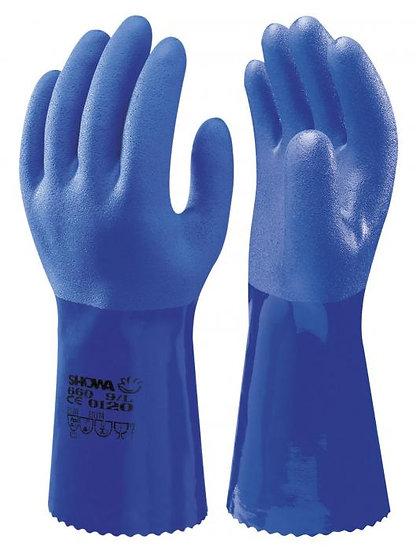 Myk og smidig oljebestandig PVC hanske 34cm - 1par