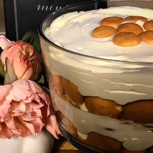 Banana pudding... my favorite part is th