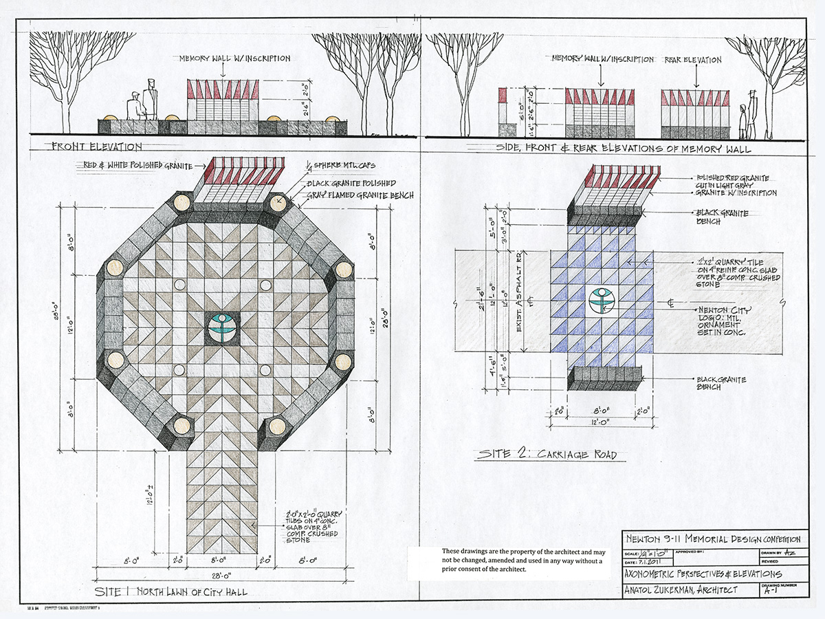 Sept 11 Memorial Design