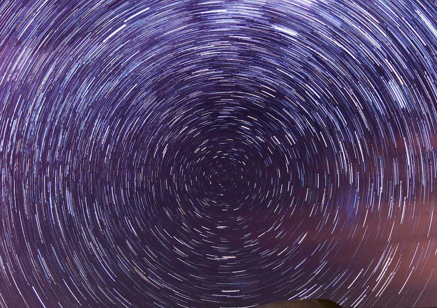 Sand Dunes Star Trails