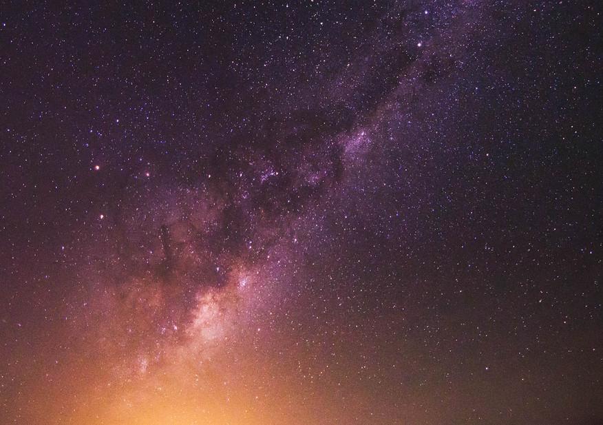 Sand Dunes Milky Way