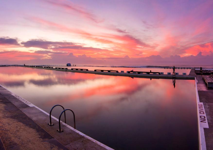 Merewether Baths Sunrise 3