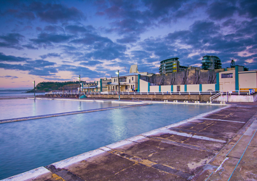 Newcastle Baths Sunrise