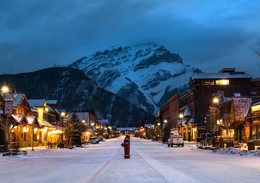Banff Main Street