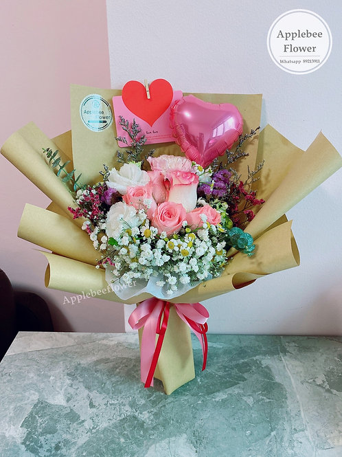 Flower of Love Pink