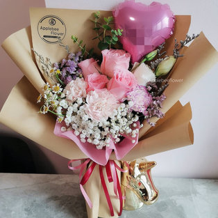 $75 Flower of Love-Pink