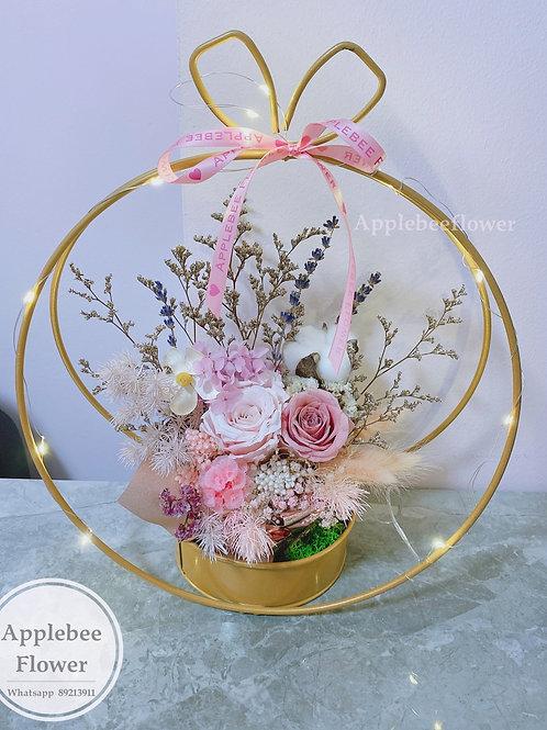 Round Everlasting Rose Special