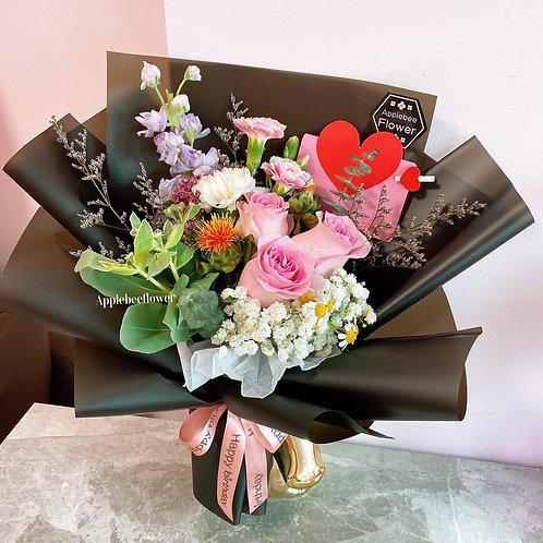 Flutter Petal Bouquet
